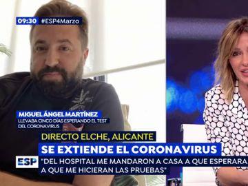 Contagio coronavirus.