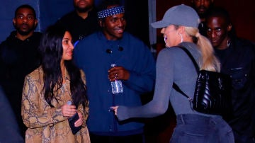 Khloé Kardashian y Kim Kardashian