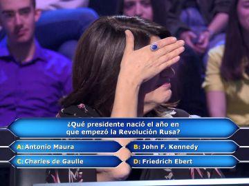 María Hernández, a por los 100.000 euros de '¿Quién quiere ser millonario?': ¿Arriesga y gana?