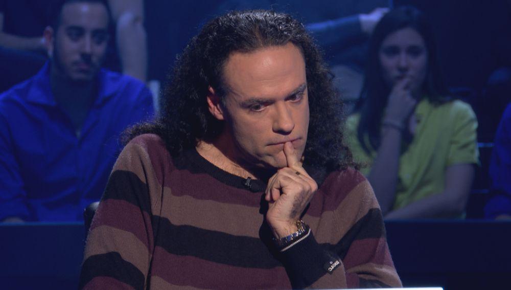 Los números le 'bailan' a Víctor Castro a pesar de su pálpito en '¿Quién quiere ser millonario?'
