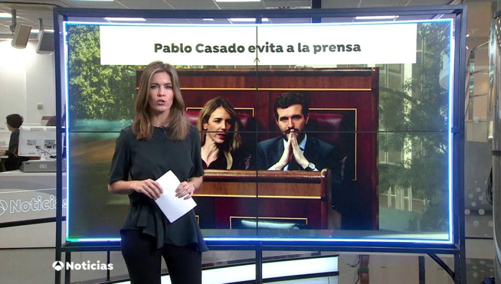 Pablo Casado evita hablar de Cayetana Álvarez de Toledo mientras otros dirigentes critican a la portavoz