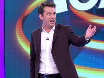 Arturo Valls demuestra en '¡Ahora caigo!' sus avances en canto pese a las adversidades