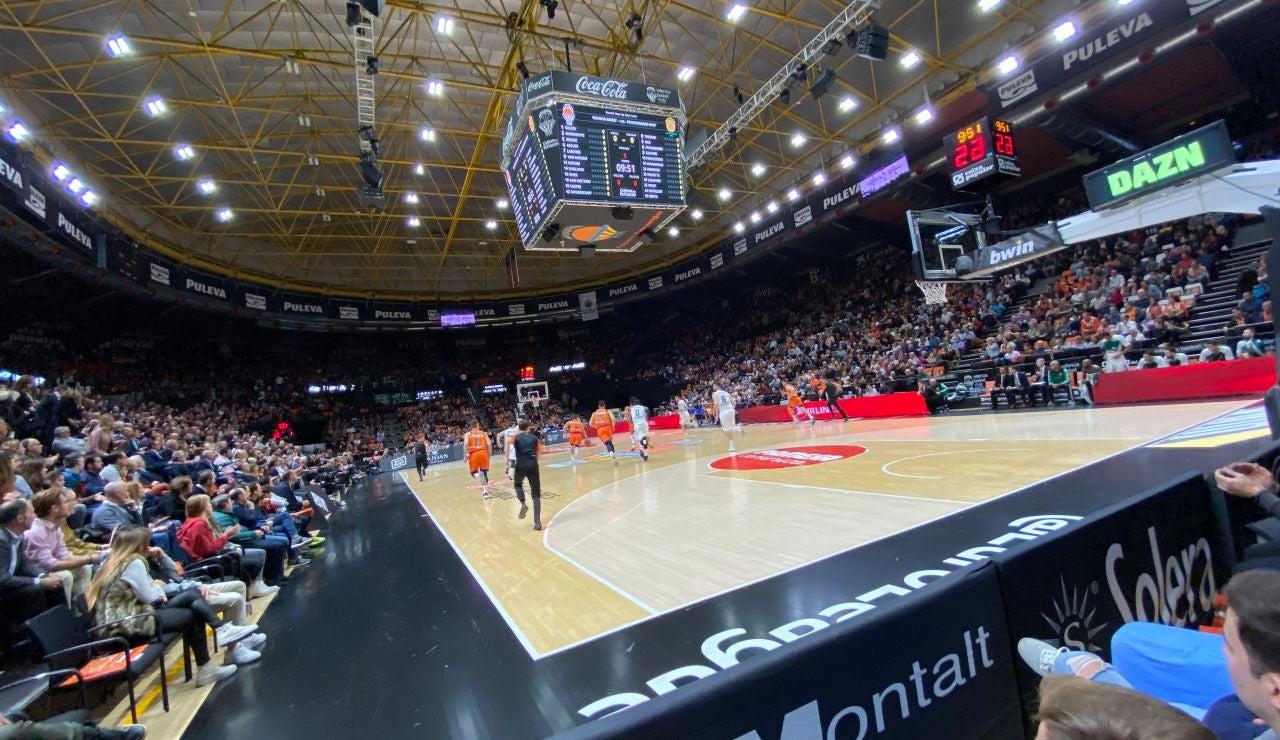 Estadio del Valencia Basket