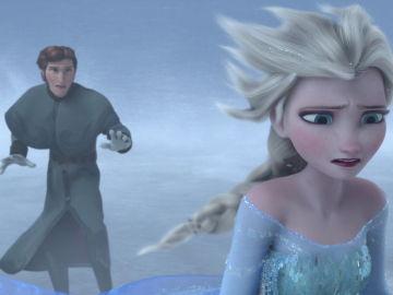 Hans y Elsa en 'Frozen'