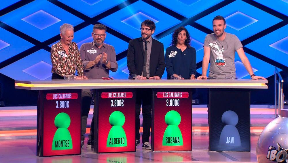 'Los caligaris' logran clasificarse para la gran final de 'La liga de los millonarios' de '¡Boom!'