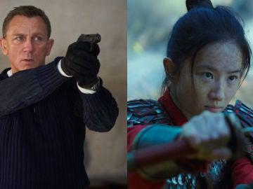 James Bond y Mulán, aceptados por el coronavirus