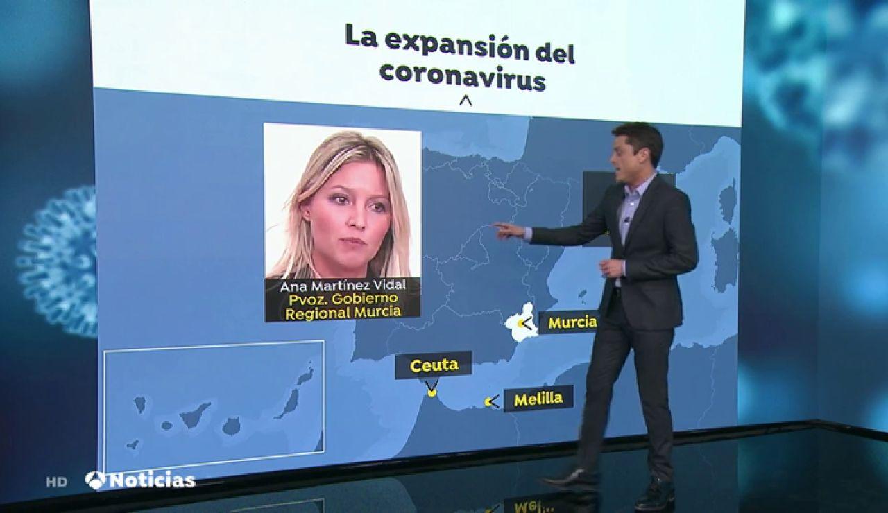 El coronavirus no ha llegado a Murcia porque no hay AVE según la portavoz del gobierno regional