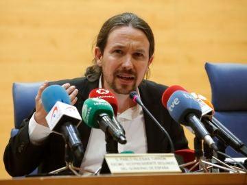 Estudiantes increpan a Pablo Iglesias en la Universidad