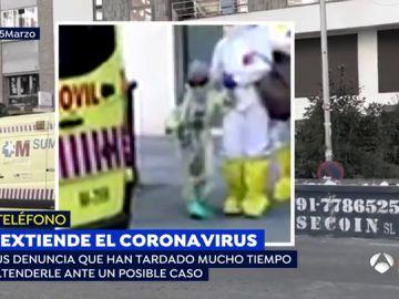 Niña con coronavirus.
