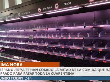 Los españoles en cuarentena