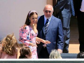 Paula Echevarría y su padre
