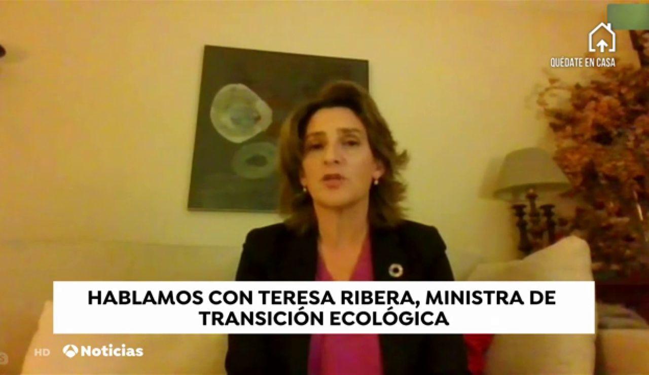 """Teresa Ribera: """"Todavía estamos en una fase complicada, va a ser muy importante la resistencia emocional y física"""""""