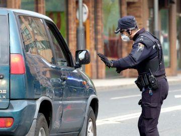Dispositivo policial por el coronavirus