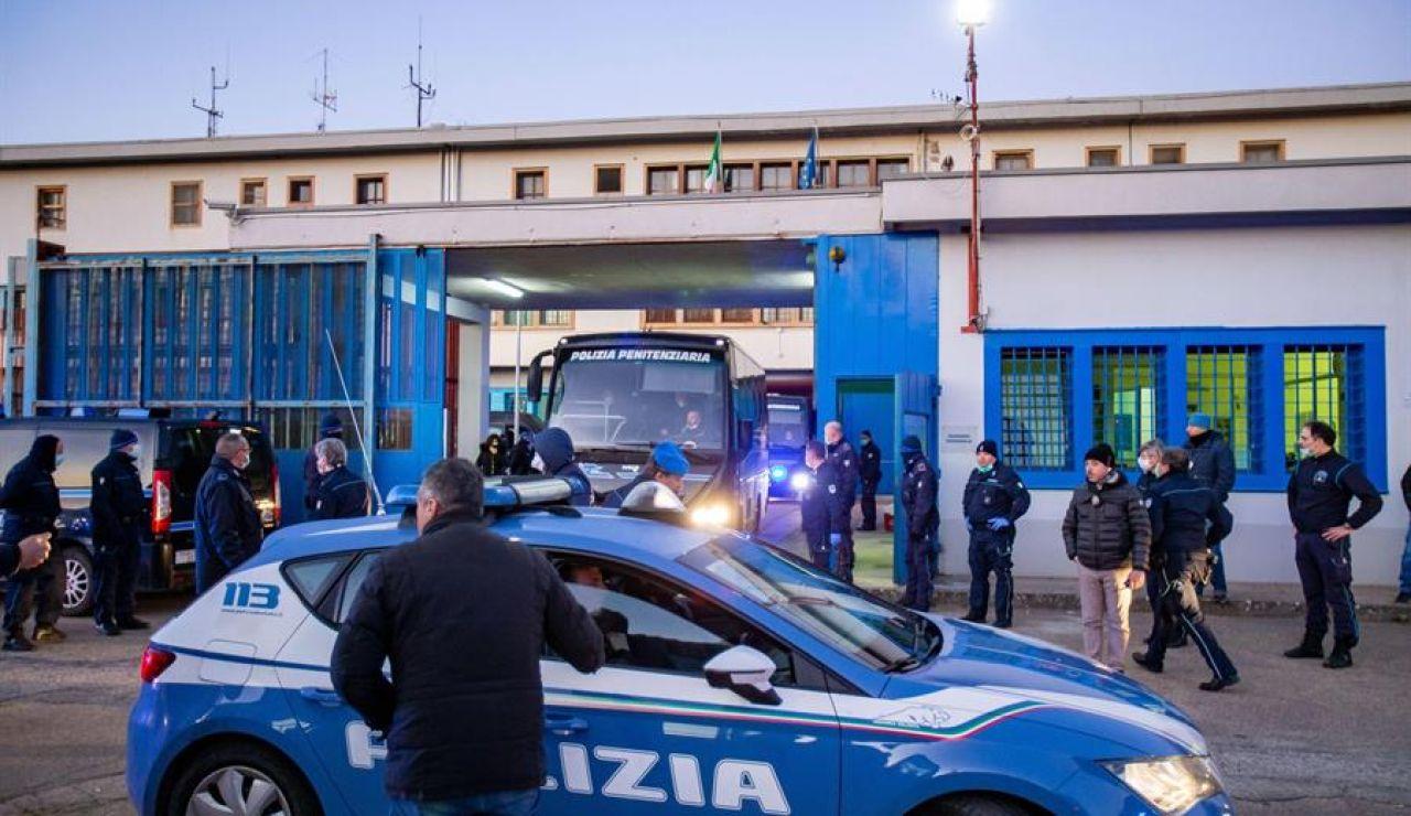 Coche de la Policía en Italia
