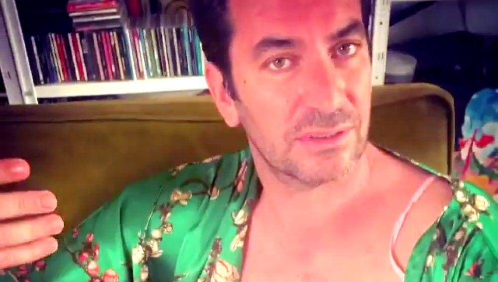 La hilarante felicitación de Arturo Valls por el día del padre tras días encerrado en casa