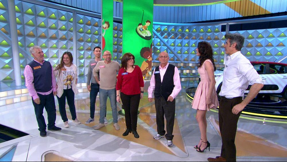 Unos concursantes de excepción para celebrar el Día del Padre en 'La ruleta de la suerte'