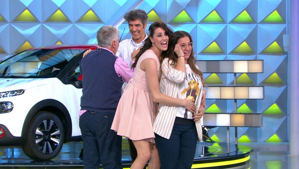 La desbordante emoción de Pepe y Lucía en 'La ruleta de la suerte' tras resolver  el panel final