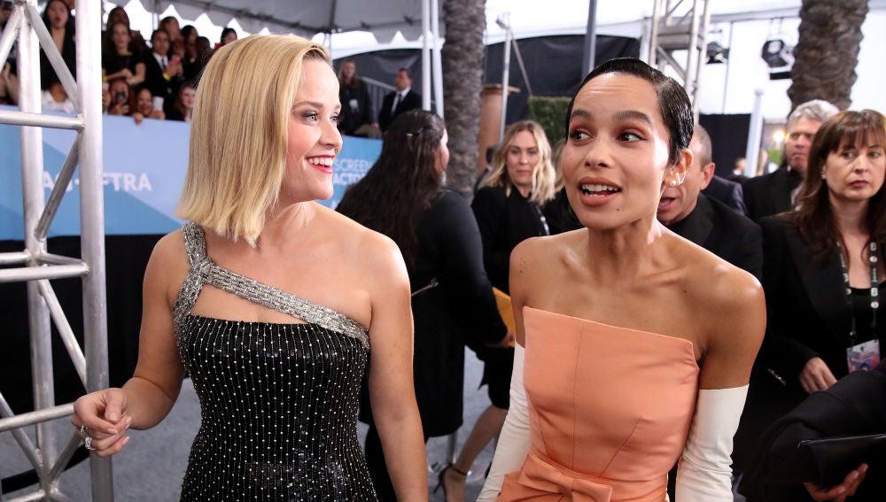 Reese Witherspoon y Zoe Kravitz