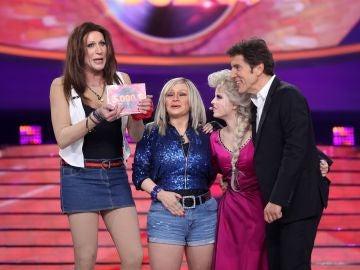 Nerea Rodríguez gana una mágica undécima gala de 'Tu cara me suena' y cede el premio a Mario Vaquerizo y Alaska