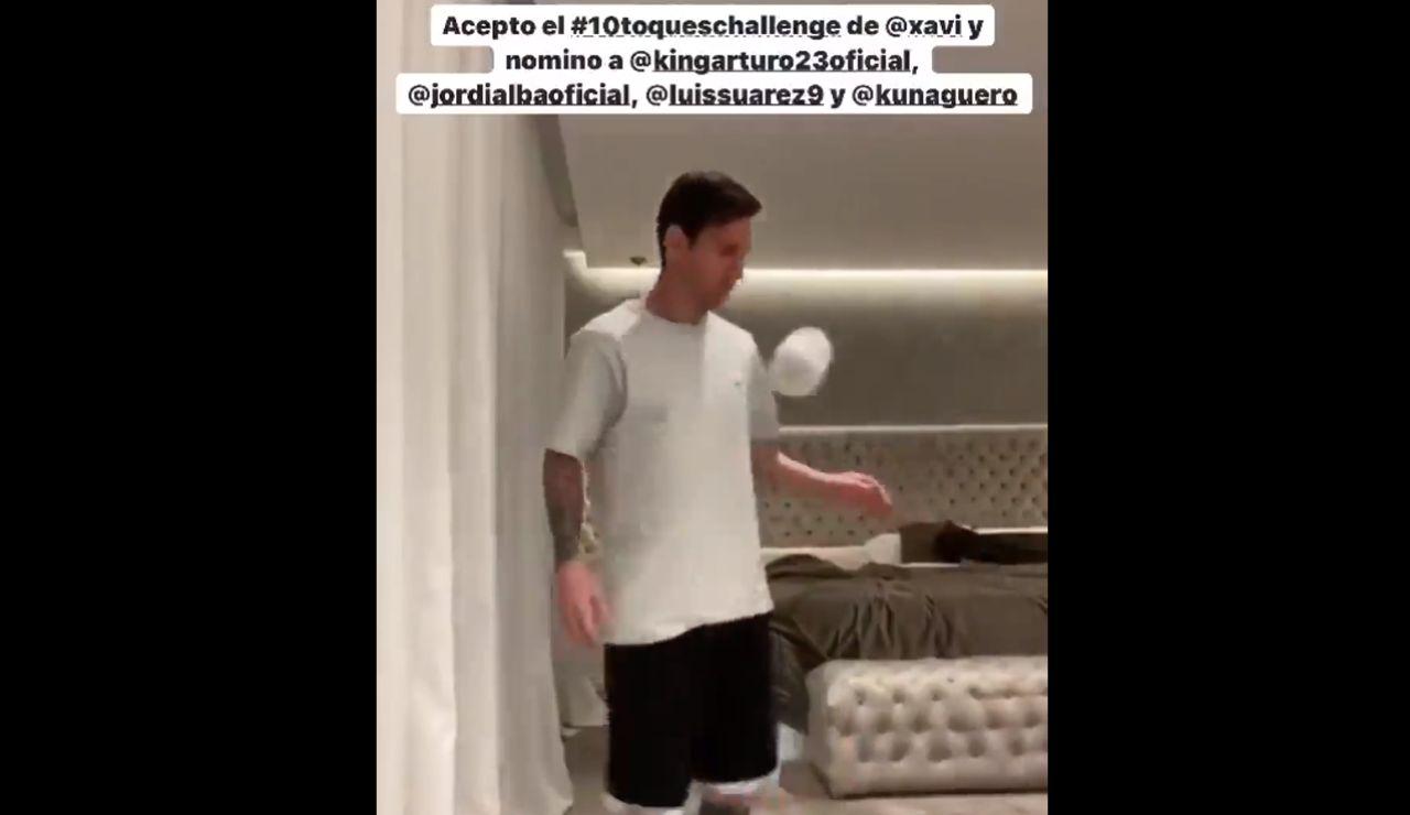 El reto de Messi