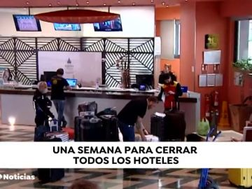 Cierre de todos los hoteles y establecimientos de hospedaje en una semana para luchar contra la expansión del coronavirus