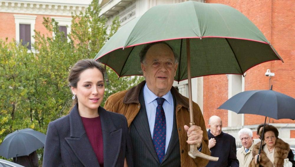 Tamara Falcó y su padre Carlos Falcó