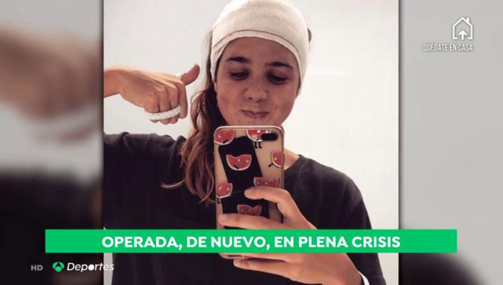 """El ejemplo de Catalina Corró, recién operada de un tumor: """"Me mandan antes a casa por el coronavirus"""""""