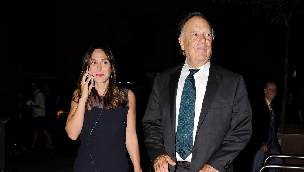 Carlos Falcó y su hija Tamara Falcó