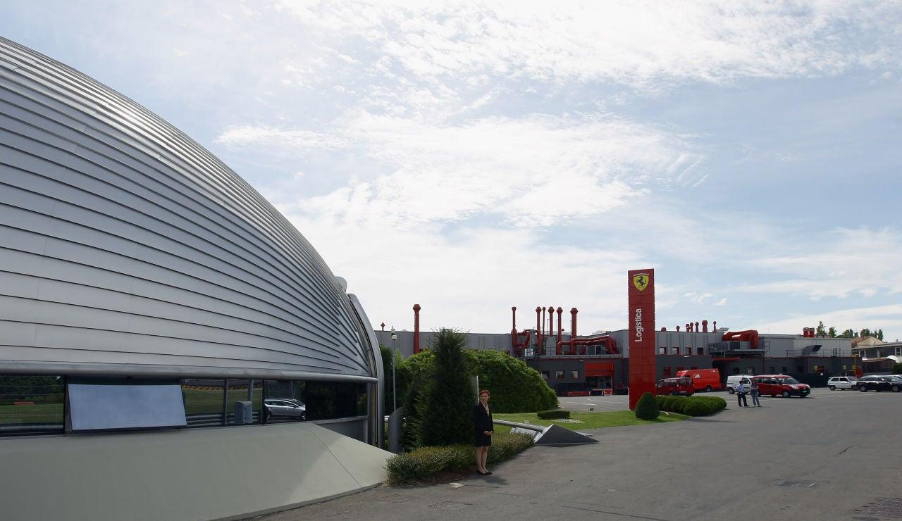 Las oficinas de Ferrari en Maranello