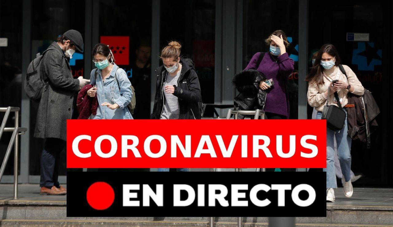 Coronavirus España: Última hora, en directo | Casos de coronavirus en España y últimas noticias