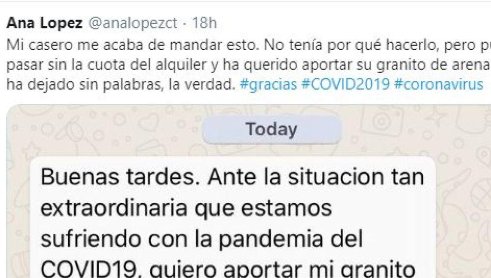 Tuit de @analopezct