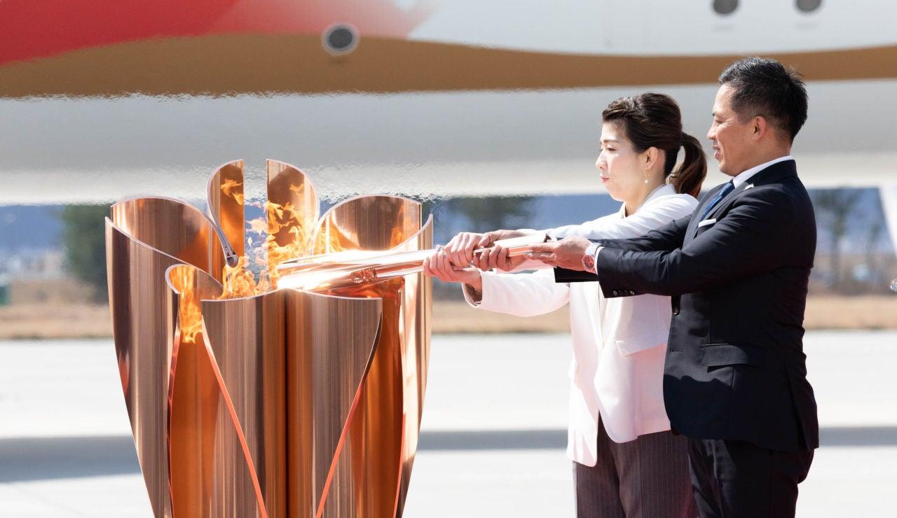 La llama llega a Tokio 2020
