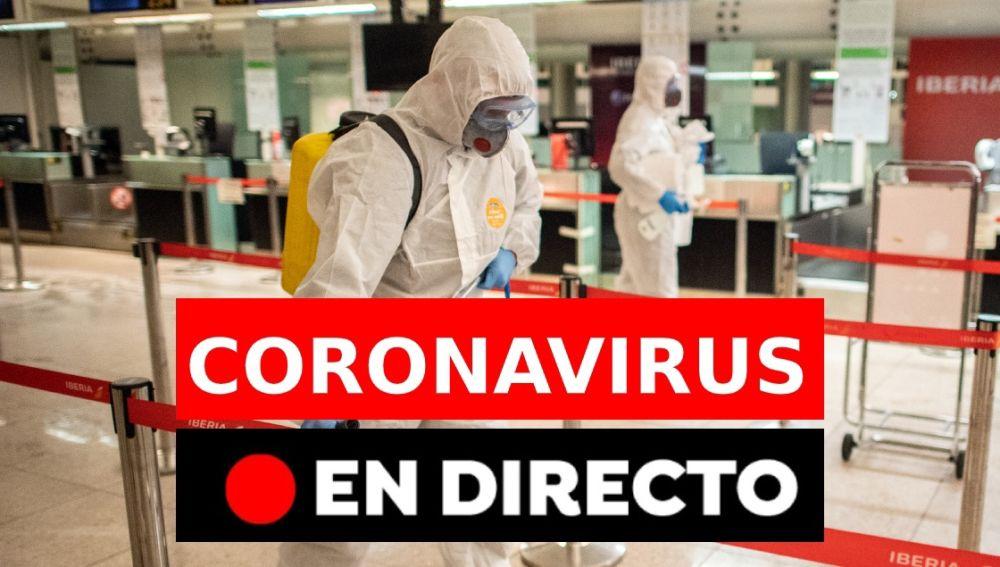 Coronavirus España: Última hora en directo | Últimas noticias coronavirus