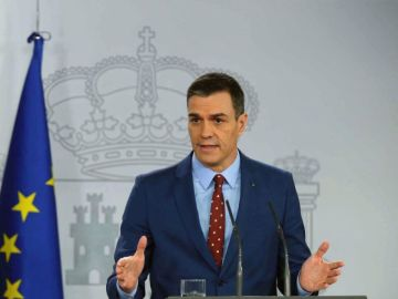 """A3 Noticias Fin de Semana (21-03-20) Pedro Sánchez, presidente del Gobierno: """"Hemos adoptado las medidas más drásticas en Europa y en el mundo""""."""