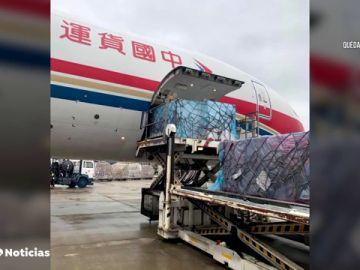 El cargamento de mascarillas anunciado por Inditex ya está preparado