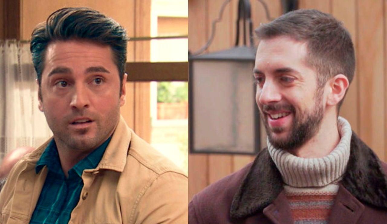 David Bustamante y David Broncano en 'Amar es para siempre'