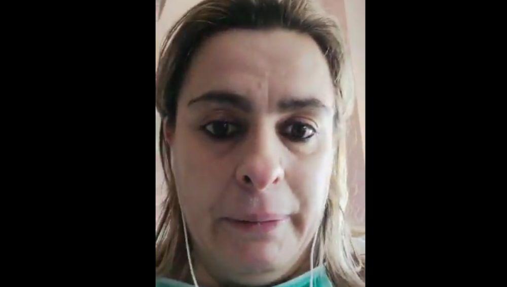 El emotivo vídeo de agradecimiento de una enferma de coronavirus