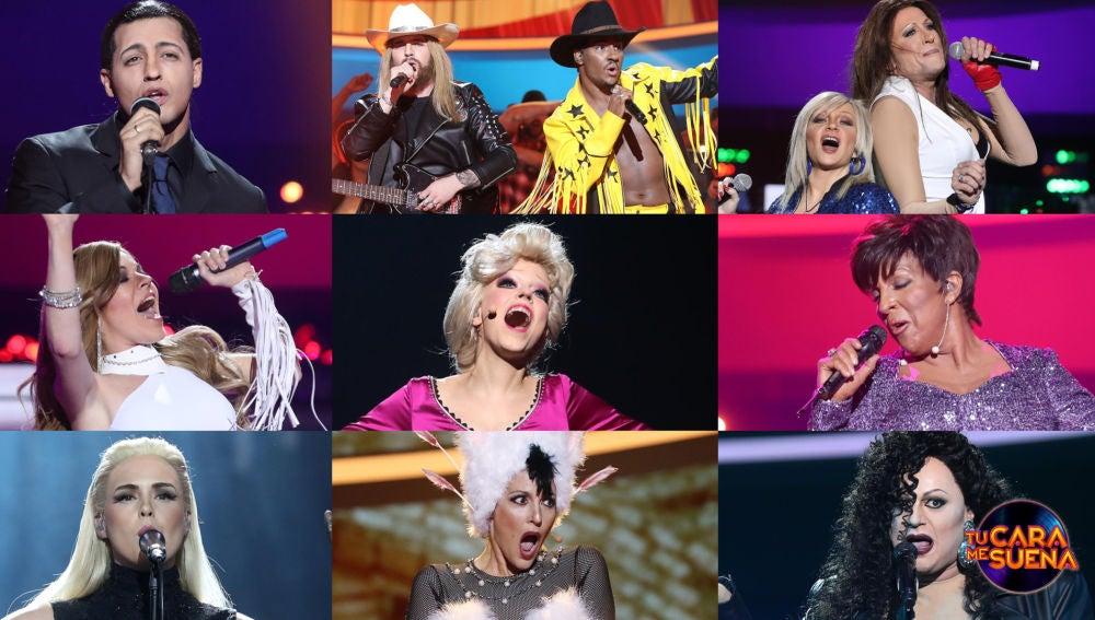 ¡Vota por la mejor actuación de la undécima gala de 'Tu cara me suena'!