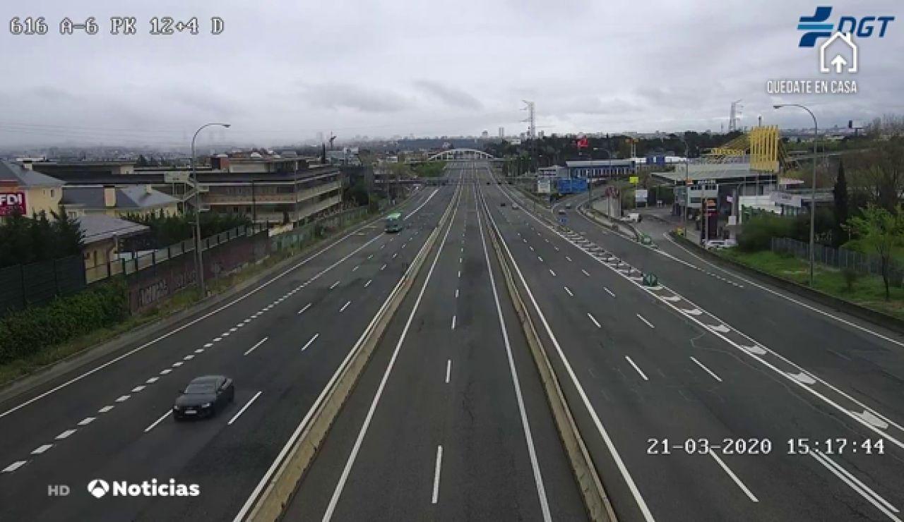 Aumentan los controles en las salidas de las grandes ciudades para evitar desplazamientos