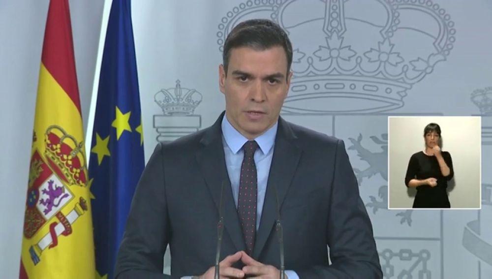 Rueda de prensa de Pedro Sánchez tras reunirse con los presidentes autonómicos streaming, en directo