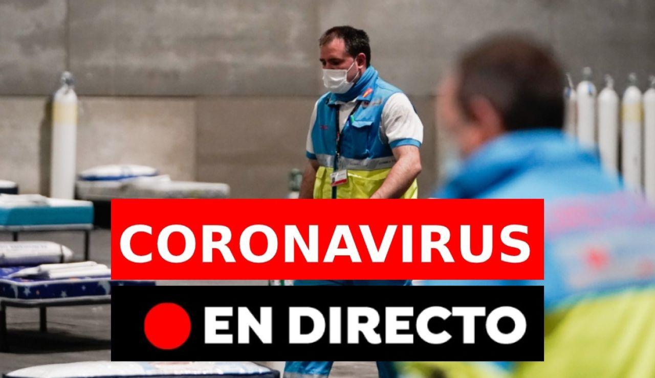 Última hora Coronavirus: España en estado de alarma, los nuevos casos de infectados, en directo