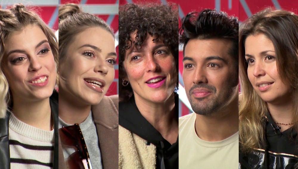 Los concursantes reaccionan sobre la undécima gala de 'Tu cara me suena'