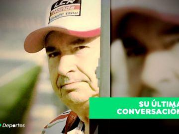El desgarrador relato de Óscar Haro sobre la muerte de su padre por coronavirus