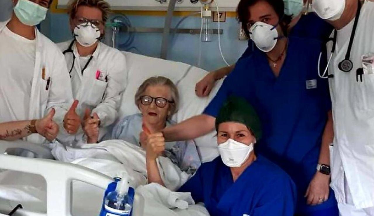 La anciana de 95 años que ha superado el coronavirus