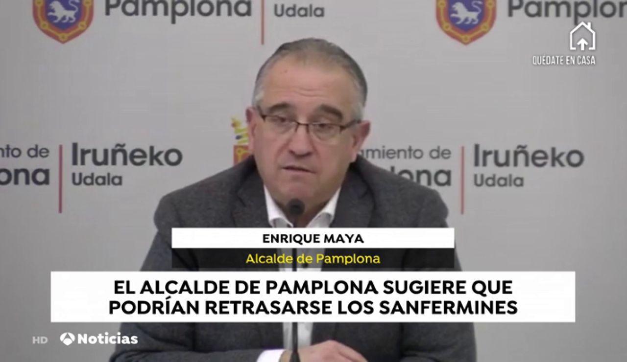 """El coronavirus amenaza con un posible aplazamiento de los Sanfermines: """"Habrá San Fermín, ahora vamos a ver cuándo"""""""