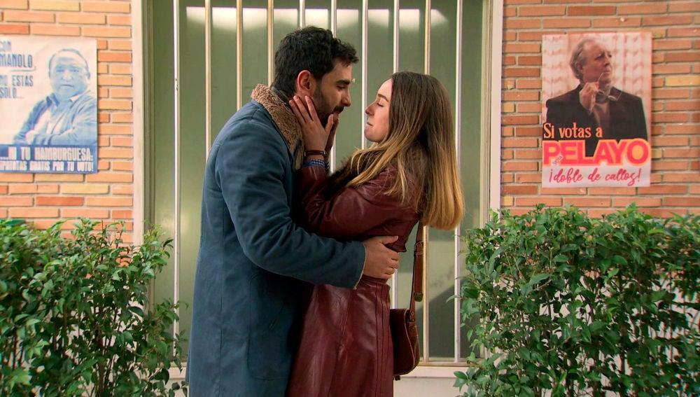 """La relación de Luisita y Sebas da un paso muy importante: """"¿Quieres probar a ser feliz conmigo"""""""