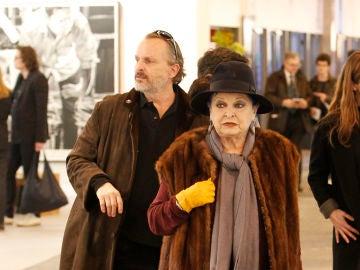 Miguel Bosé y su madre Lucía Bosé