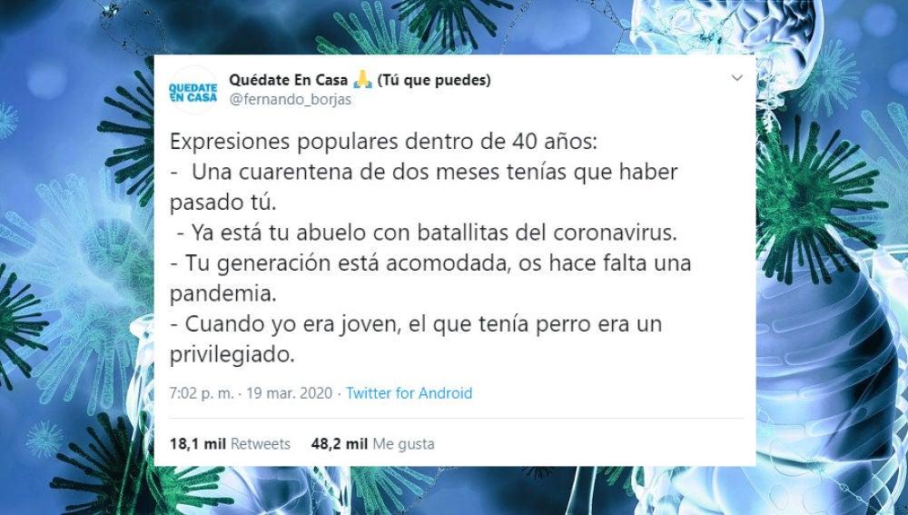 Tuit de @fernando_borjas