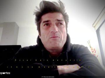 """Deportes Antena 3 (23-03-20) El terrible relato de Óscar Haro: """"Mi padre ha muerto de coronavirus por falta de respiradores"""""""