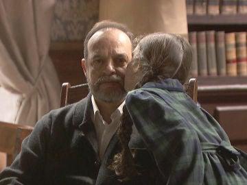 El tierno y adorable momento entre Camelia y Raimundo